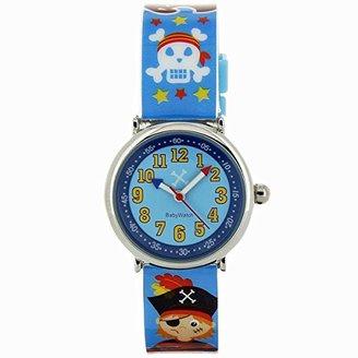 Baby Watch (ベビー ウォッチ) - ベビーウォッチ babywatch コフレボヌール 海賊 クオーツ 腕時計 CB001 ブルー