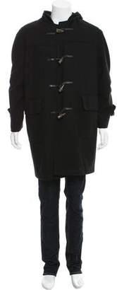 Burberry Woven Duffle Coat