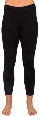 Danskin Women's Wide Waist Ankle Leggings
