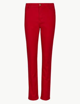 Marks and Spencer Mid Rise Slim Fit Jeans