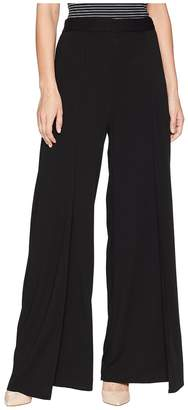 Michael Stars Rylie Rayon Wide Leg Tulip Pants Women's Casual Pants