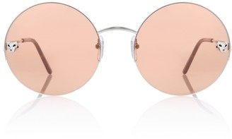 Cartier Eyewear Collection Panthere de round sunglasses