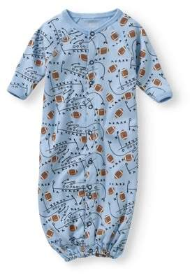 Baby Steps Newborn Baby Boy Convertible Gown