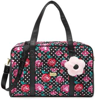 Betsey Johnson LUV BETSEY BY Quilted Weekender Bag