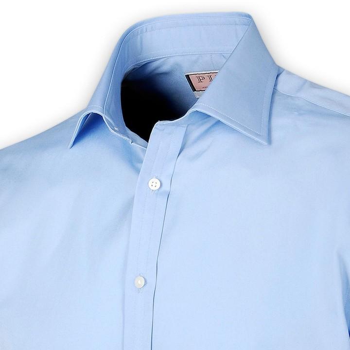Thomas Pink Boot Plain Shirt - Short Sleeve