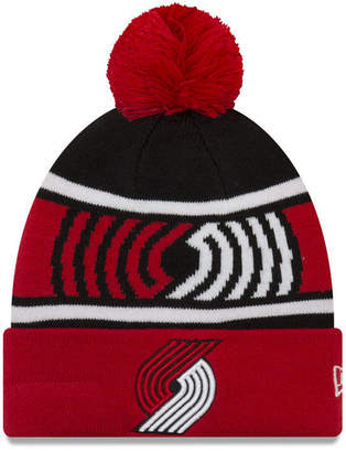 New Era Boys' Portland Trail Blazers Jr. Callout Pom Hat