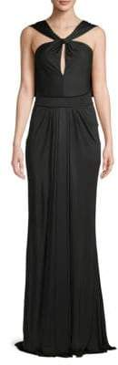 Zac Posen Sleeveless Knotted Gown