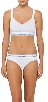 bf25f4790a43f at David Jones Calvin Klein Modern Cotton Bralette Lightly Lined