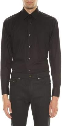 Ermenegildo Zegna Black Cotton Shirt