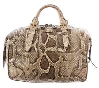 Belstaff Python Ashley Duffel Bag