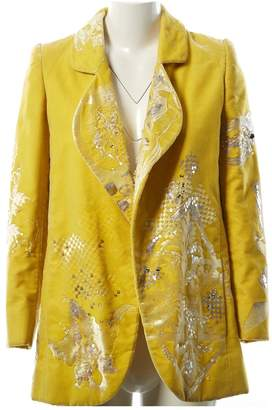 Non Signé / Unsigned Non Signe / Unsigned Yellow Velvet Jackets