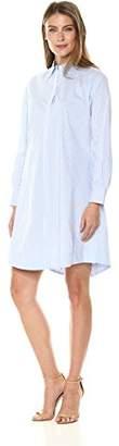 Foxcroft Women's Cici Strpe Stretch Shirt Dress