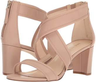 Nine West Pearlita Block Heel Sandal High Heels