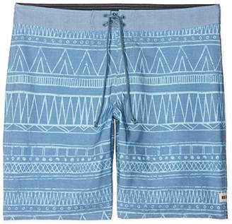 """Reef Men's Tribe Boardshort 19"""" 4 Way Stretch Performance Fit"""