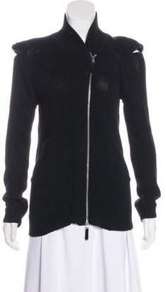 Zero Maria Cornejo Silk-Blend Zip-Up Jacket