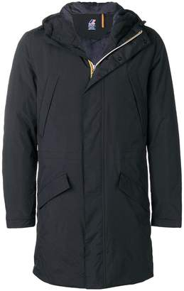 K-Way Remi Ripstop hooded jacket