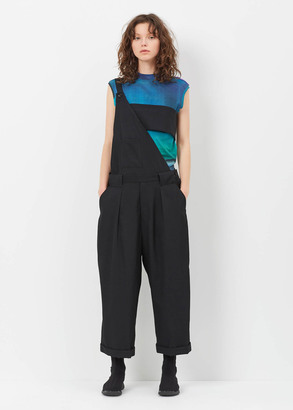 Yohji Yamamoto black one-shoulder pants $1,580 thestylecure.com