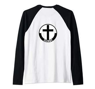 Church's Christian Catholic Clergy Pastor Priest or Minister Raglan Baseball Tee