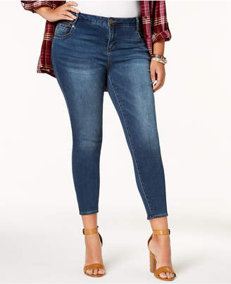 KUT from the Kloth Plus Size Emma Skinny Ankle Jeans