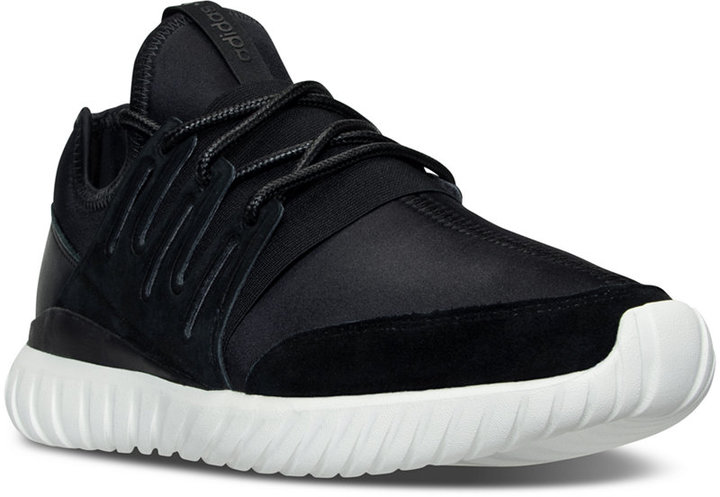 adidas Men's Originals Tubular Radial Casual Sneakers from Finish Line