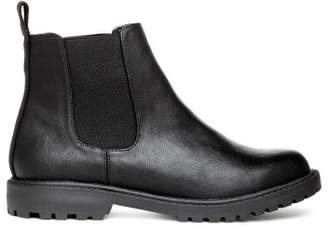 H&M Chunky-sole Chelsea Boots - Black