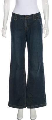 MICHAEL Michael Kors Mid-Rise Wide-Leg Jeans