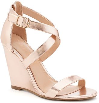 LC Lauren Conrad Flourish Women's Dress Wedges $59.99 thestylecure.com