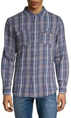 Highline Collective Check Flannel Button-Down Shirt