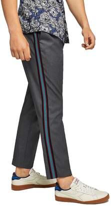 Topman Melange Slim Jogger Pants