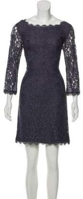 Diane von Furstenberg Lace Knee-Length Dress