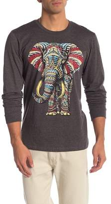 Riot Society Ornate Elephant Long Sleeve Tee