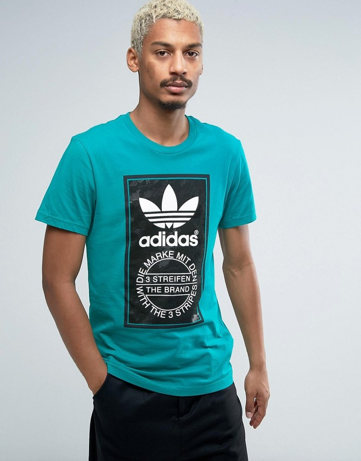 adidas Originals Camo Label T-Shirt