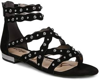 Sam Edelman Women's Daya Studded Suede Sandals
