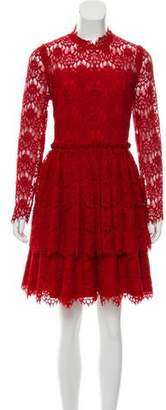 Lanvin Lace Knee-Length Dress