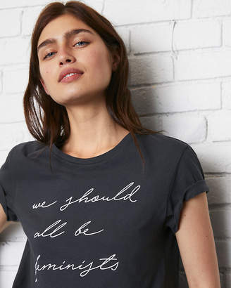 Express One Eleven We Should All Be Feminists Graphic Tee