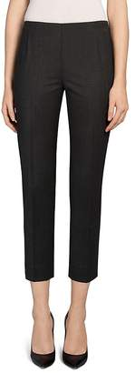 Lafayette 148 New York Stanton Stretch Wool Ankle Pants