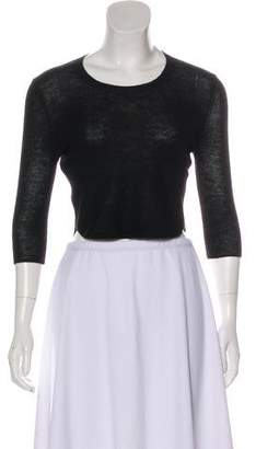 Soyer Crop Knit Top