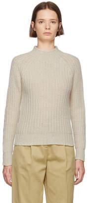 YMC White Diana Geelong Sweater