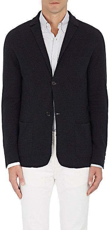 Barneys New YorkBarneys New York Men's Wool-Silk Two-Button Sportcoat