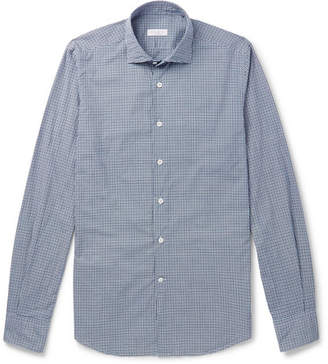 Incotex Slim-Fit Checked Cotton Shirt