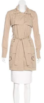 Rue Du Mail Belted Trench Coat