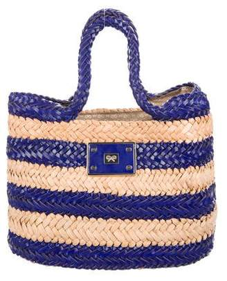 Anya Hindmarch Small Halen Straw Tote