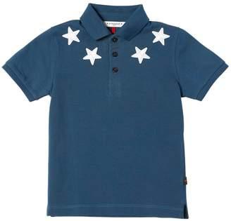 Givenchy Cotton Piqué Polo Shirt W/ Patches
