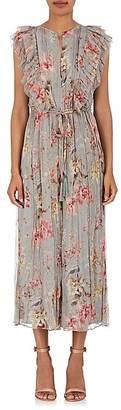 Zimmermann Women's Floral Silk Georgette Jumpsuit $895 thestylecure.com