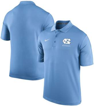 Nike Men's Carolina Blue North Carolina Tar Heels Varsity Baseball Performance Polo
