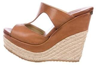 Jimmy Choo Platform Wedge Espadrilles