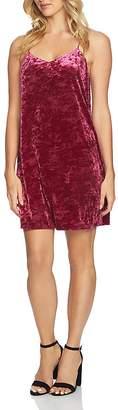 CeCe by Cynthia Steffe Mia Crushed Velvet Slip Dress