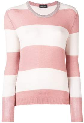 Roberto Collina striped pattern sweater