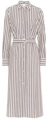 Max Mara Folgore striped cotton dress