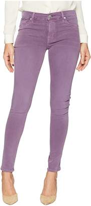 Hudson Nico Mid-Rrise Ankle Super Skinny in Dusted Orchid Women's Jeans